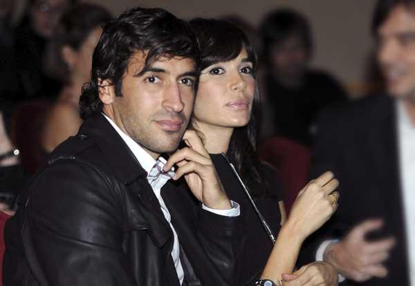 Raul gonzalez y Mamen Sanz