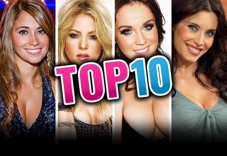 Top 10 WAGs Liga española