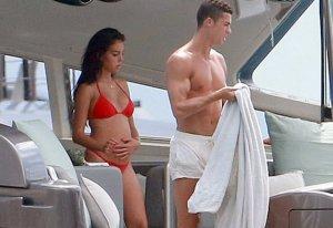 Georgina Rodriguez y Cristiano Ronaldo