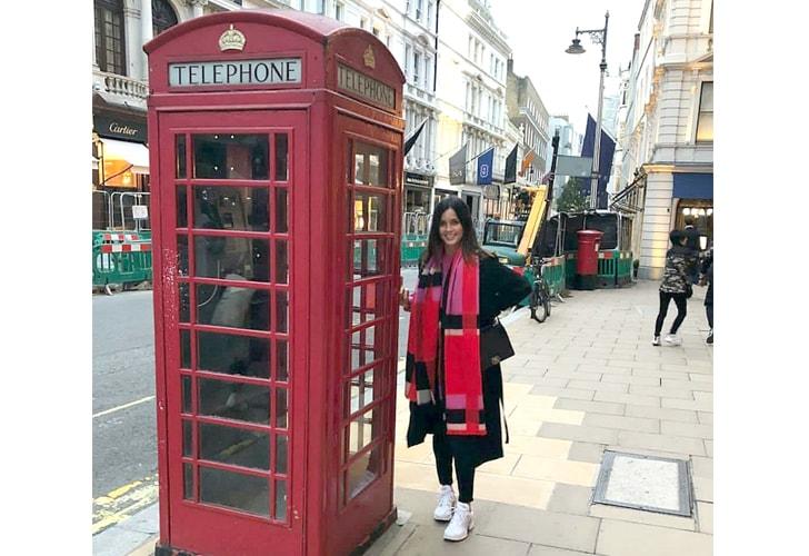 Maca Rodríguez en Londres