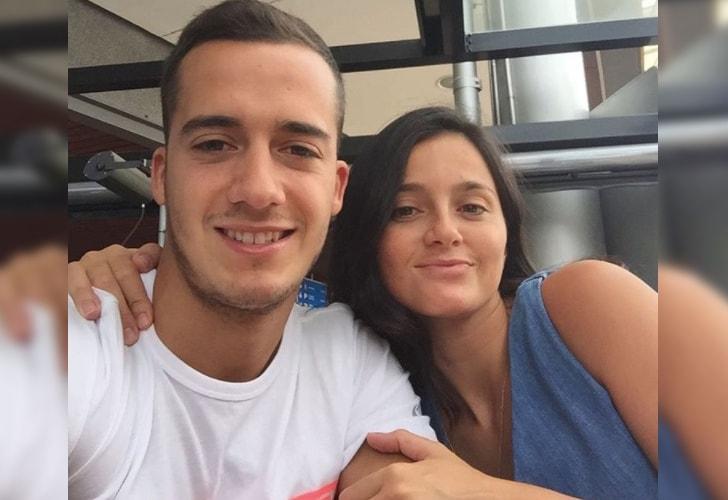 Lucas Vázquez y Maca Rodríguez