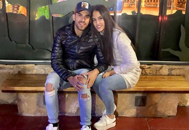 Dani Ceballos y María Sanchez