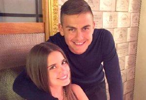 Paulo Dybala y Anonella Cavalieri