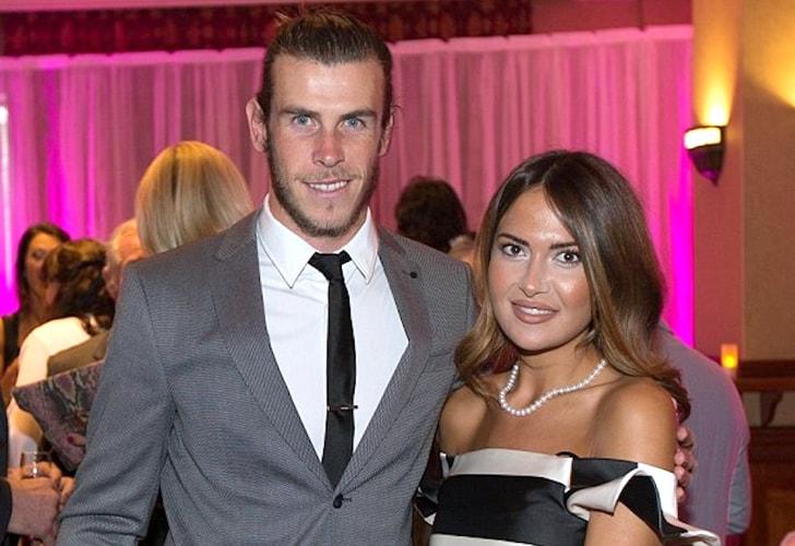 Gareth Bale y Emma