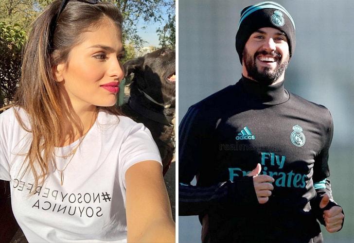 Isco Alarcon y Sara Salamo