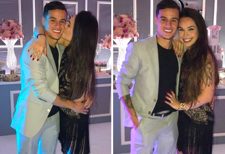 Aine Coutinho y Philippe Coutinho