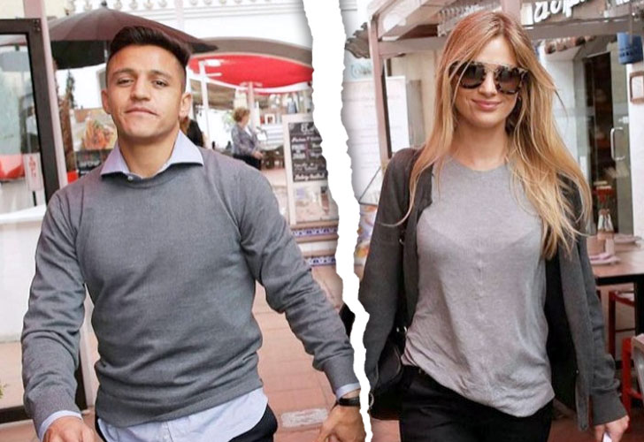 Alexis Sánchez y Mayte Rodríguez rompen su noviazgo