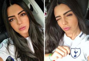 Larissa Saad: no te pierdas a la exótica esposa de Lucas Moura