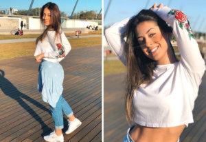 No te pierdas a Keila Garcia, la novia del barcelonista Arthur