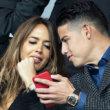 Shannon de Lima y James Rodríguez confirman su noviazgo