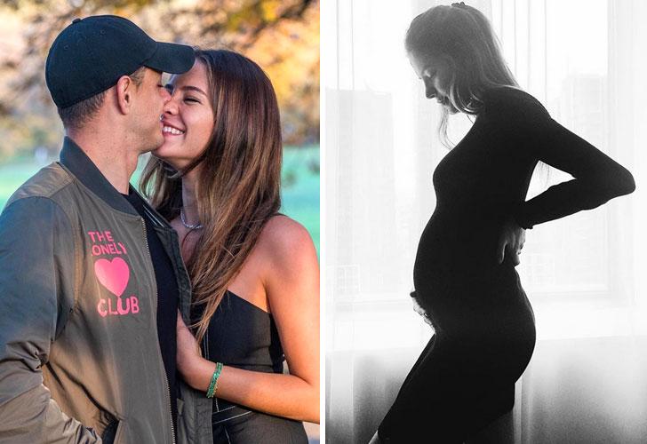 Chicharito y Sara Kohan serán papás