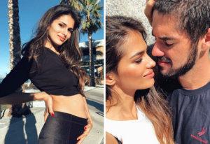 Isco y Sara Sálamo serán padres en 2019