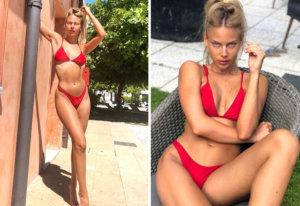 Bar Zomer: espectacular modelo y amiga de Neymar