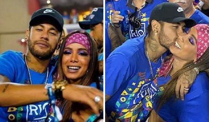 Neymar se divierte con Anitta y desata un huracán
