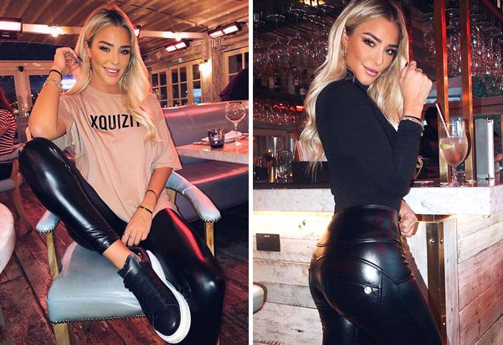 Taylor Ward: la 'Kardashian' inglesa que flechó al 'Kun' Agüero