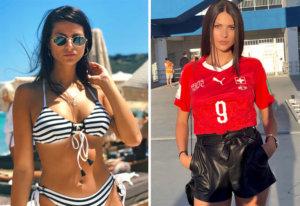 Amina Seferovic, la esposa del goleador del Benfica