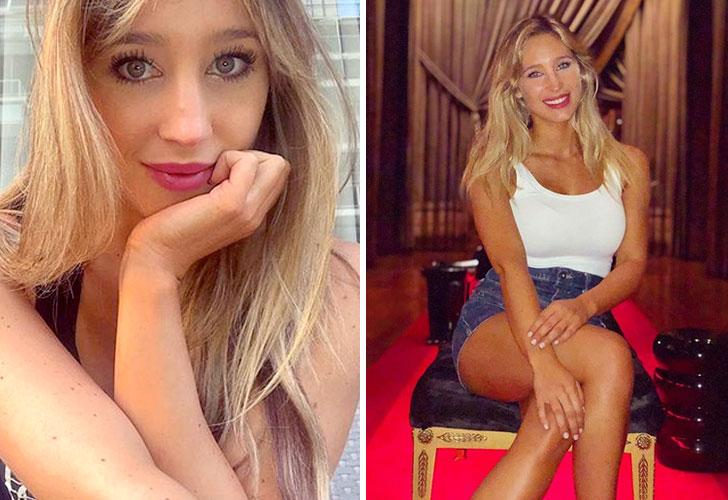 Mechi Blanco: así es la novia de Lisandro López de Racing Club