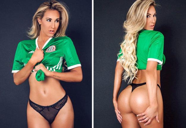 Jeni Summers: no te pierdas a la fan más sexy de la liga mexicana