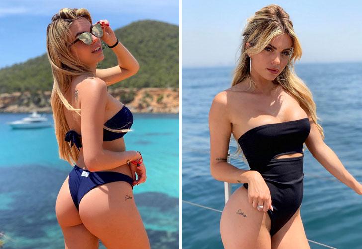 Ludovica Pagani: la rubia más sexy del fútbol italiano