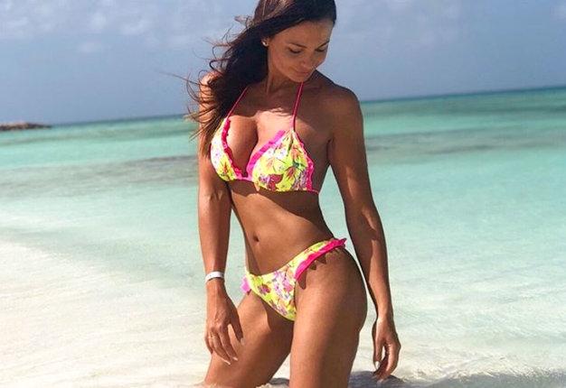 Eva Pérez: así es la novia del argentino Renzo Saravia