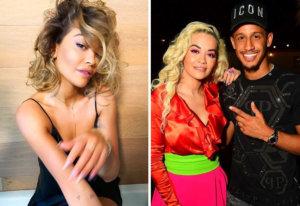 La cantante Rita Ora se deja ver con un futbolista de la Premier League