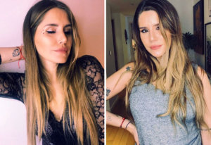 Mica Tinelli de novia con Licha López de Boca