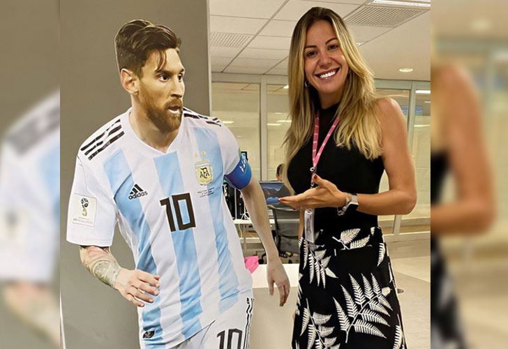 Bárbara Coelho: así es la periodista brasileña 'enamorada' de Messi
