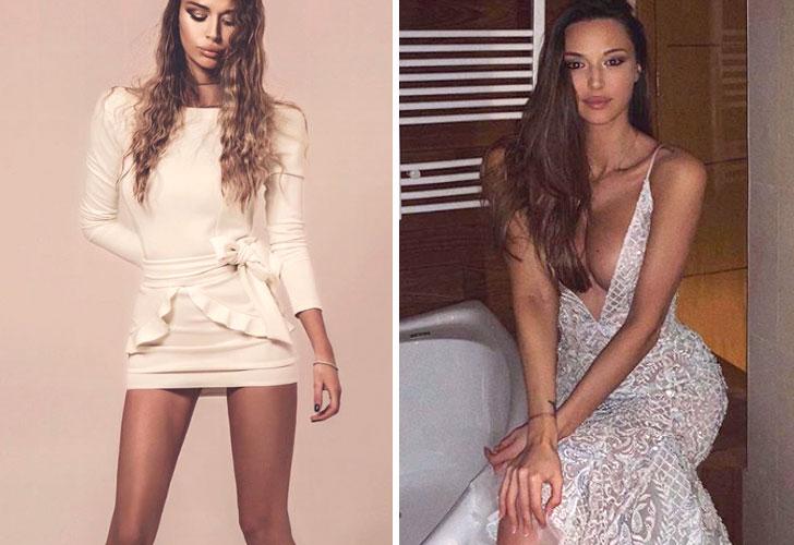 Así es Kristina Mijacevic, la modelo que despistó a Kolarov