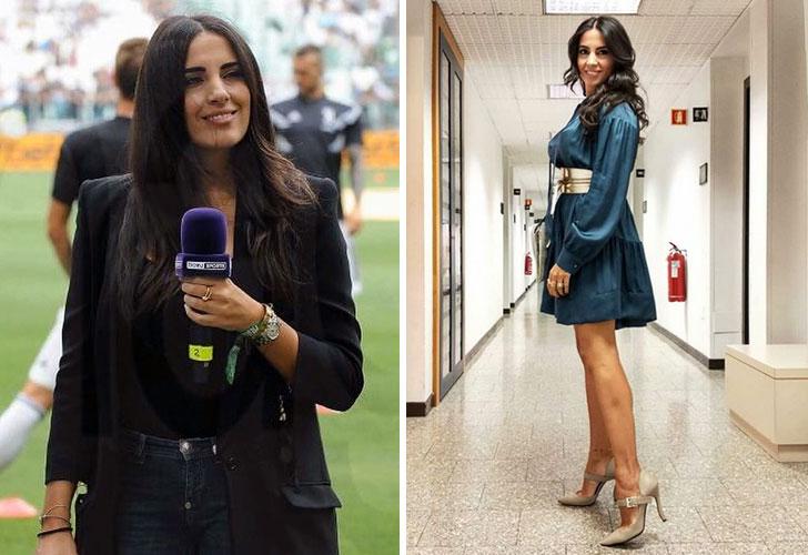 Francesca Brienza: así es la novia del entrenador Rudi García