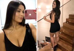Fabiane Hase, la novia de la última perla brasileña de la Liga