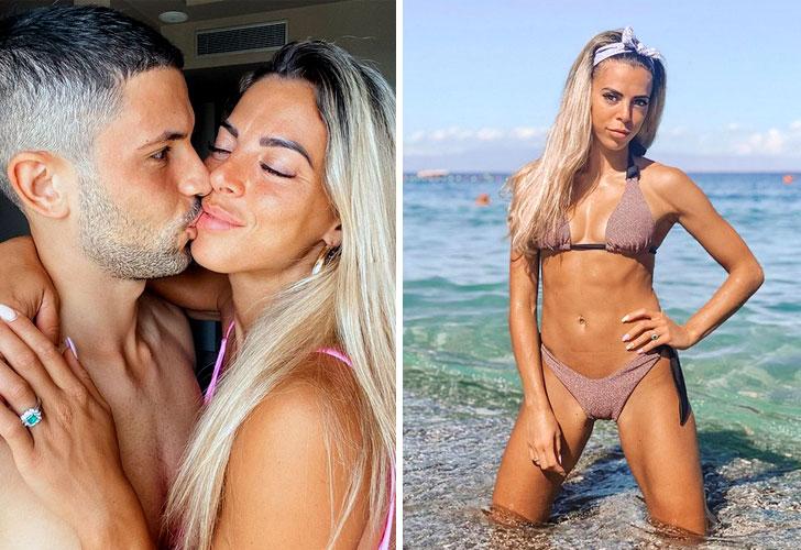 Giulia Amodio, flamante novia del Inter