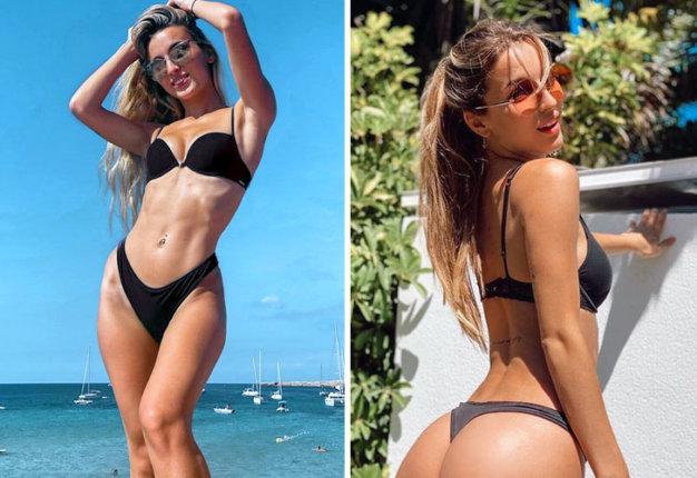 Julia Plesita, la hincha más sexy del Cádiz