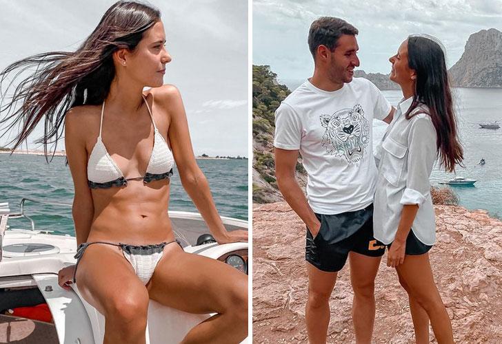 Andrea Pericas, así es la novia del ex Barça Abel Ruiz