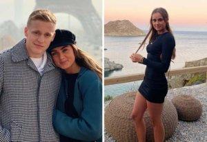 Así es Estelle, hija de Bergkamp y nueva WAG en la Premier League